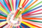 ceruzák, fehér háttér