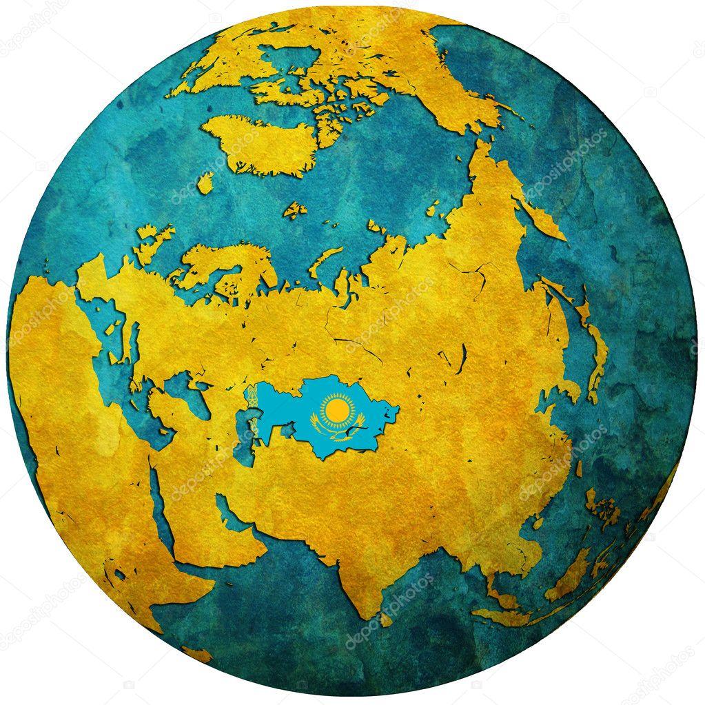 столетия, картинки карта мира казахстан так