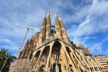 Sagrada Familia - Roman Catholic basilica in Barcelona.