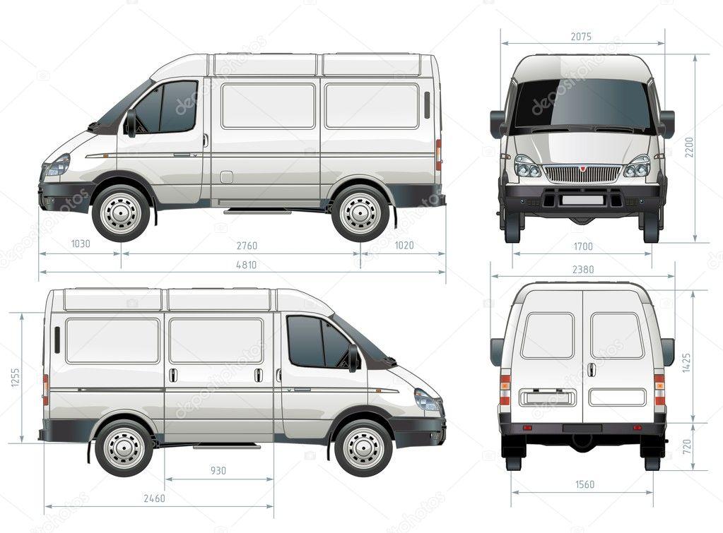 Vector delivery / cargo van