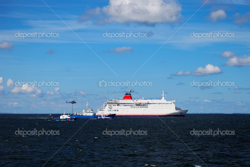 Exercises at sea