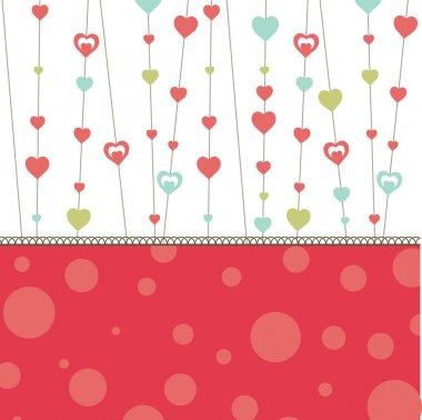 Valentine's heart. vector illustration