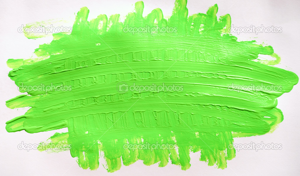 White Paper Light Green Paint Stock Photo Dmitroza