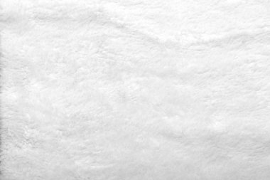 Texture background from white fur of animal
