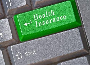 Keyboard for health insurance