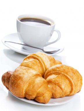 Croissants and coffee