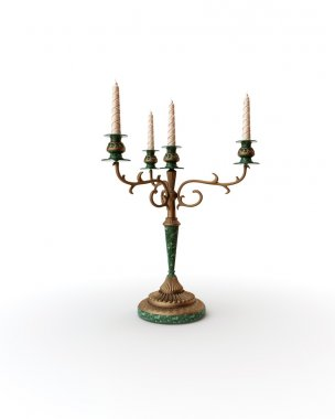 Isolated Candelabra