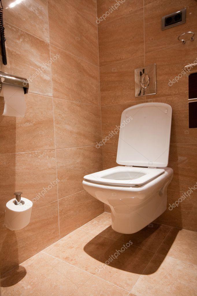 Moderne Toilette — Stockfoto © csakisti #4510420