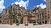 Fotografie klášter Montserrat