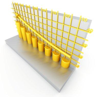 Golden columns of diagram