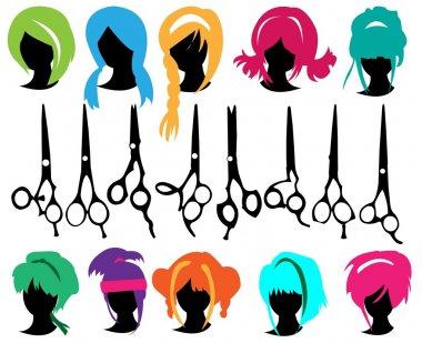 Hair symbols