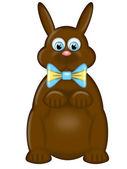 Fotografie Glückliches Ostern Tag Schokoladenhasen Hase