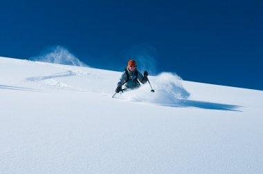 Skiing Powder