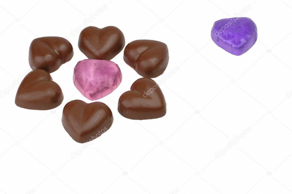 heart shaps chocolates stock photo razvanphoto 5148254