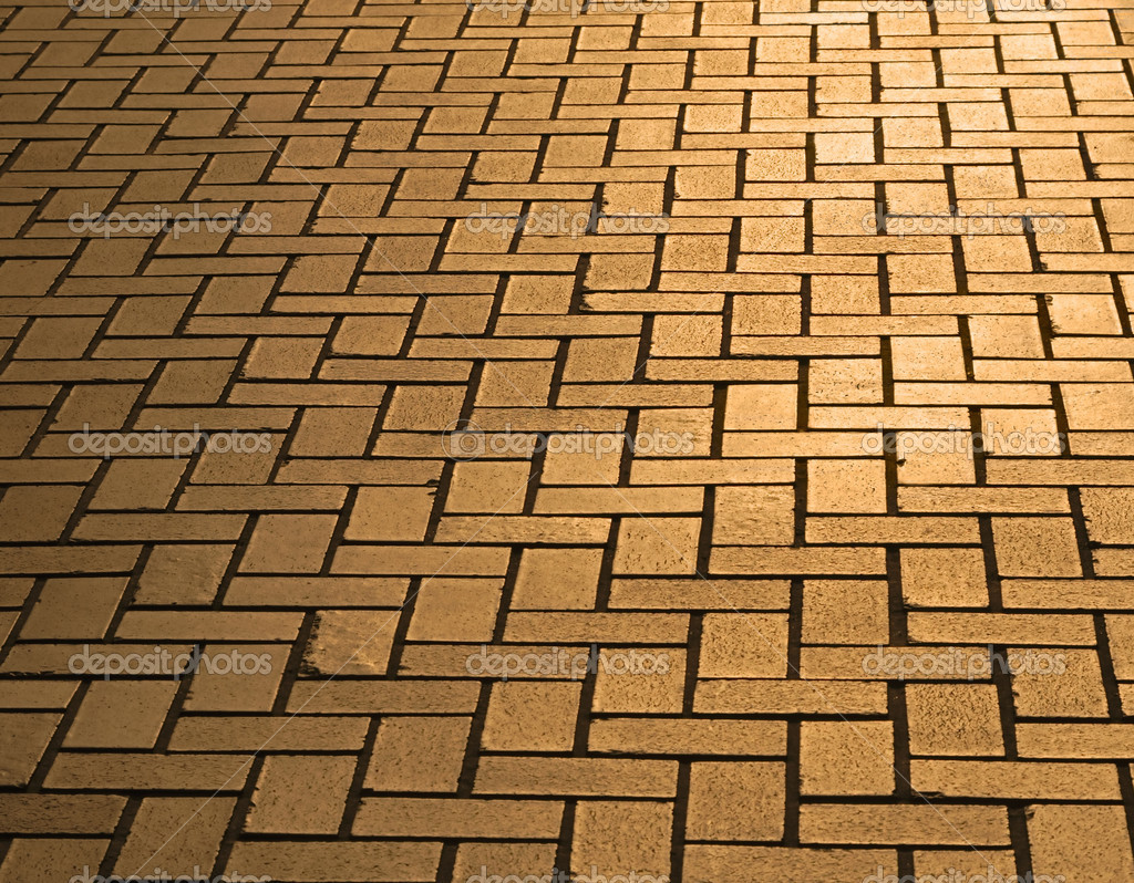 bestrating in schemering verlichting — Stockfoto © razvanphoto #5305654