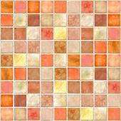 narancssárga mozaik csempe