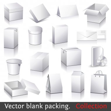 blank packing collection