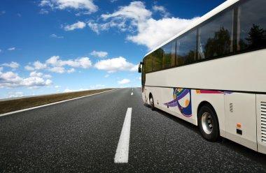 Bus traveling