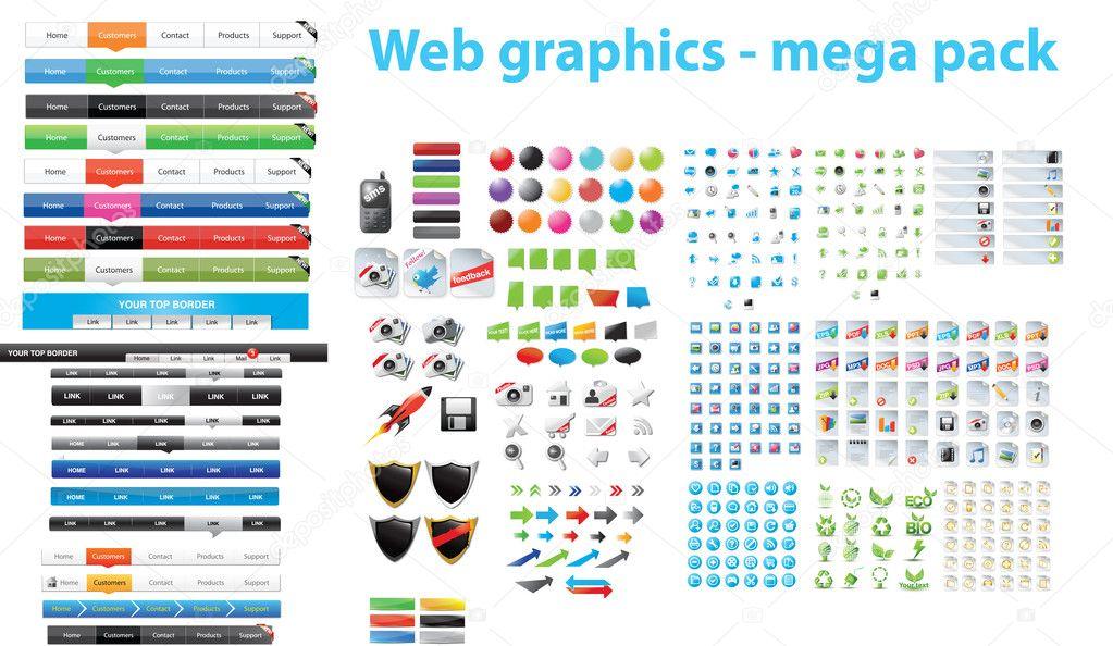 Web designers toolkit - mega pack