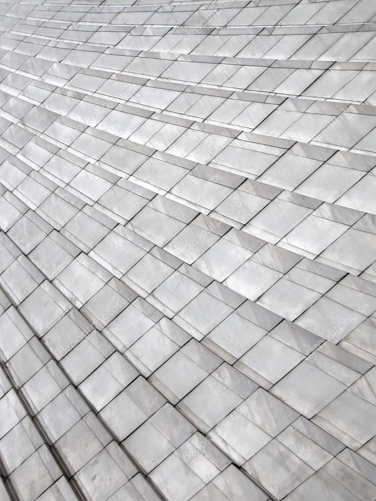 Abstract silver metal building, heap frames background — Stock Photo ...