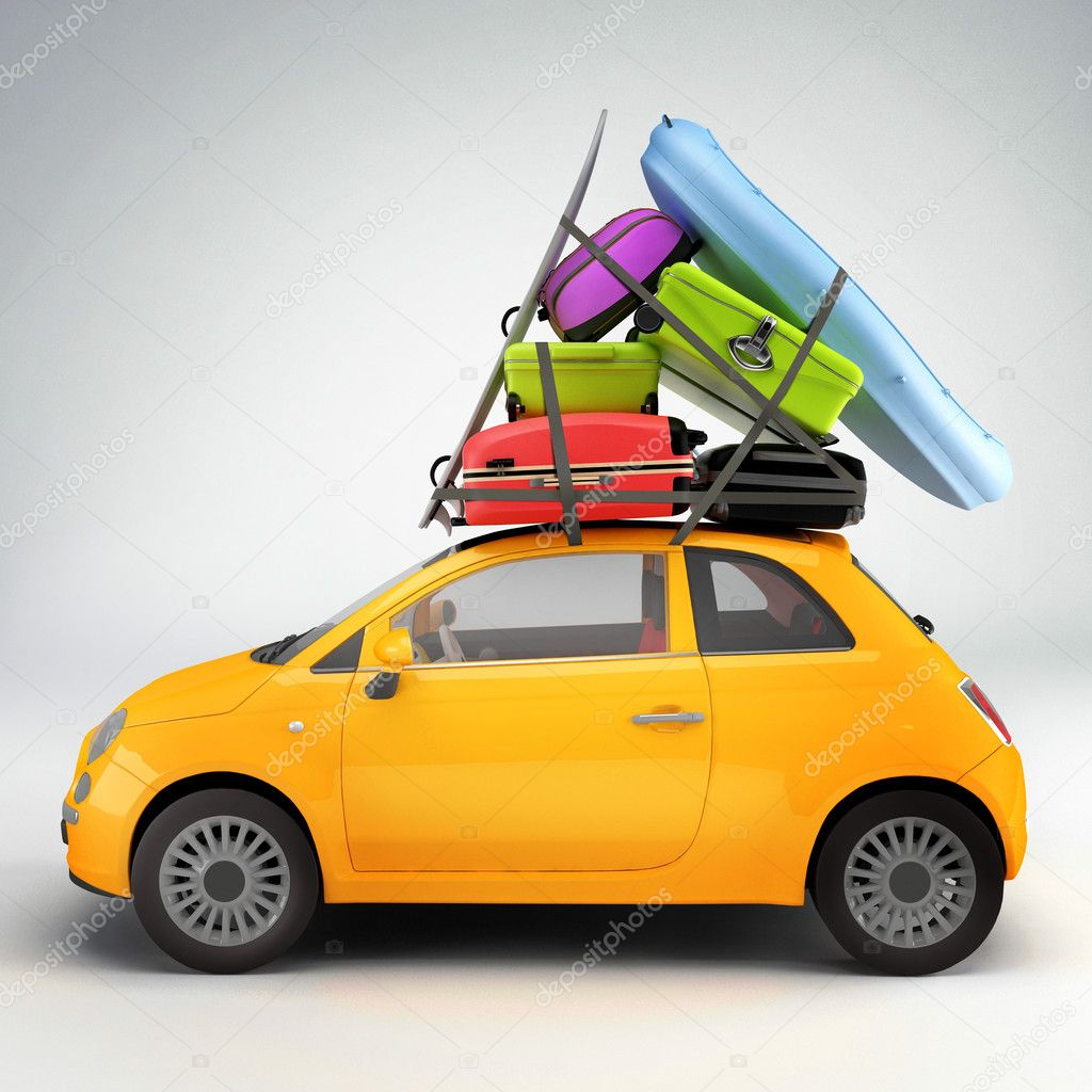 car ready for travel stock photo jordygraph 4932056. Black Bedroom Furniture Sets. Home Design Ideas