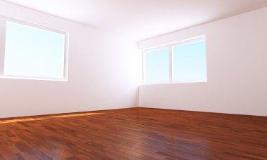 "Картина, постер, плакат, фотообои ""Empty room"", артикул 5337141"