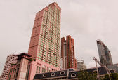 Highrise moderní budova v Bangkoku, Thajsko