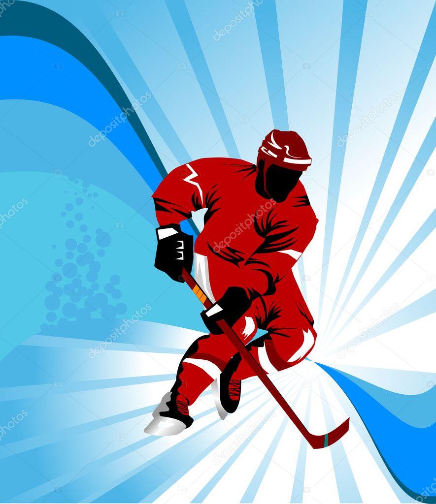 Фоны для создания открыток хоккей, осени надписями