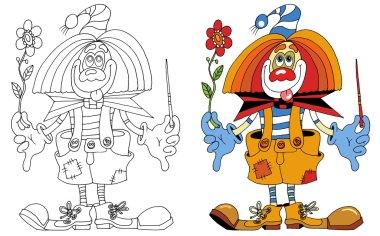 Clown purim