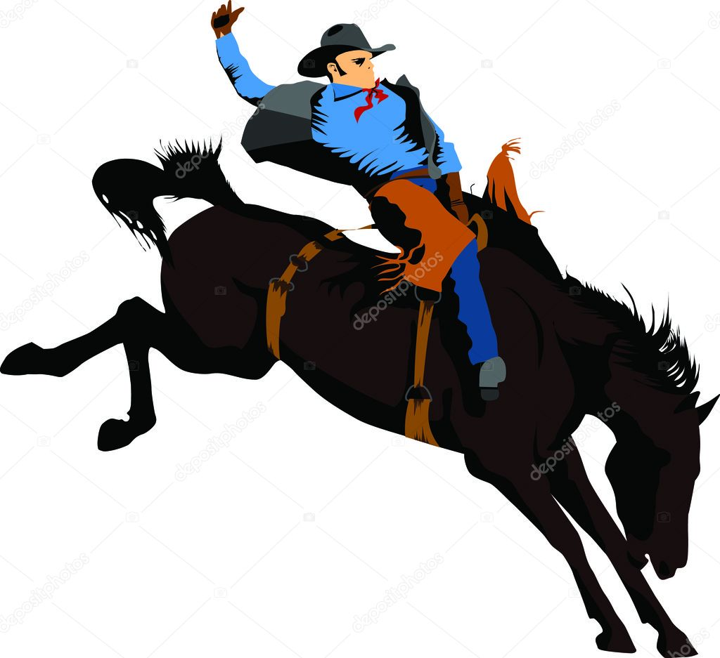 ᐈ Bucking Horse Silhouettes Stock Vectors Royalty Free Bucking Horse Illustrations Download On Depositphotos