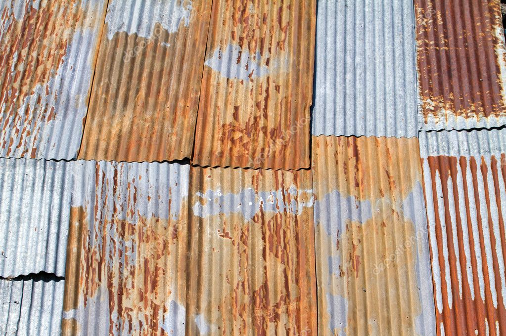 Old Corrugated Metal Roof Stock Photo 169 Chrisroll 4111204