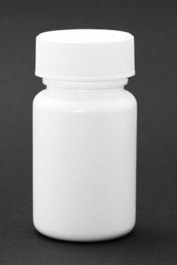 White medicine bottle