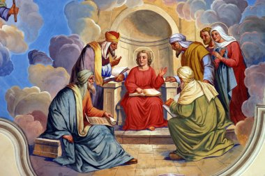 The Twelve Year Old Jesus in the Temple