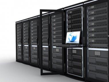 Modern server-room