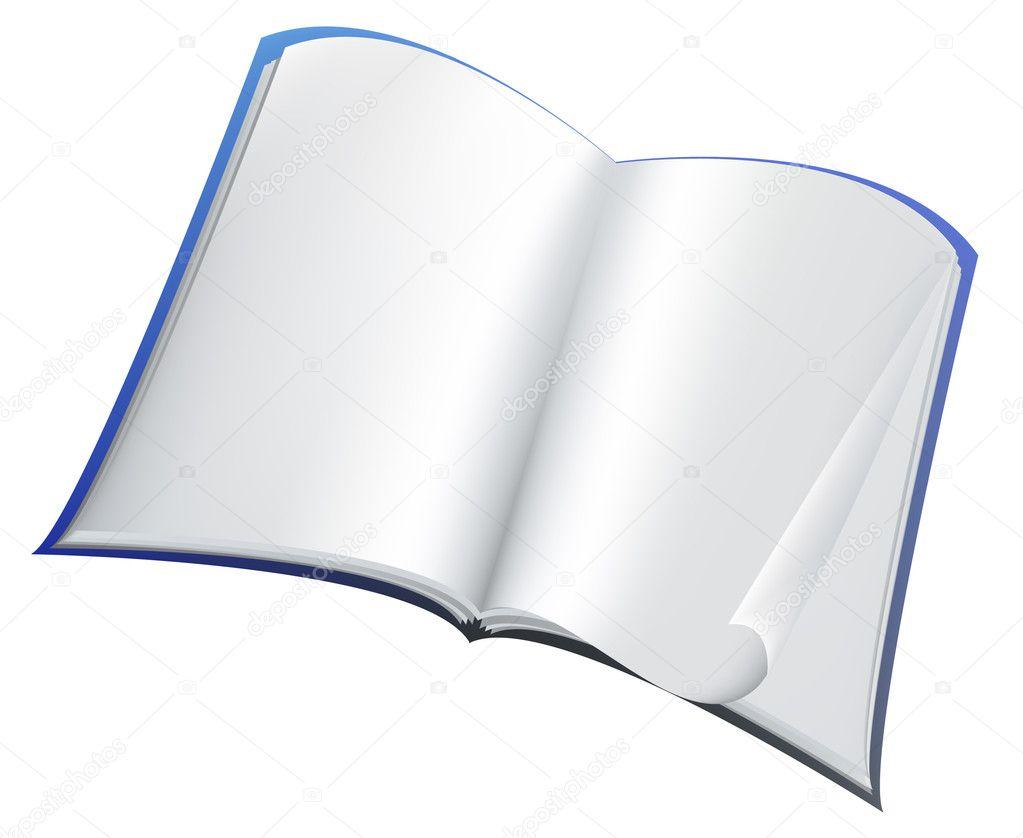 Livre Bleu Image Vectorielle Huhli13 C 4254994