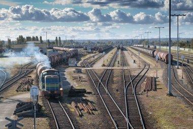 Transportation on a railway