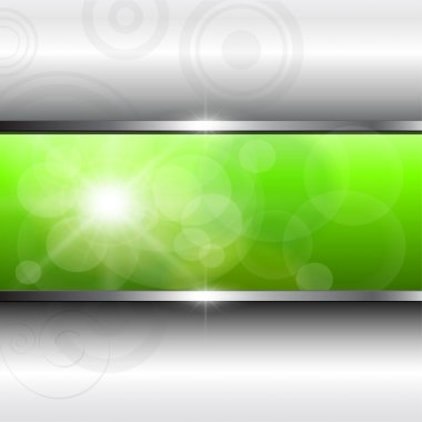 Vector abstract background green. clip art vector