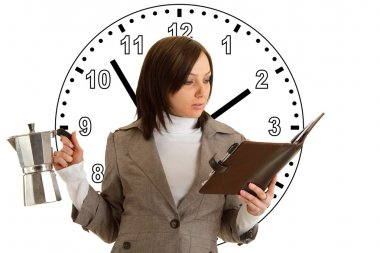 Woman under Time Pressure