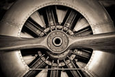 Photo Aircraft engine