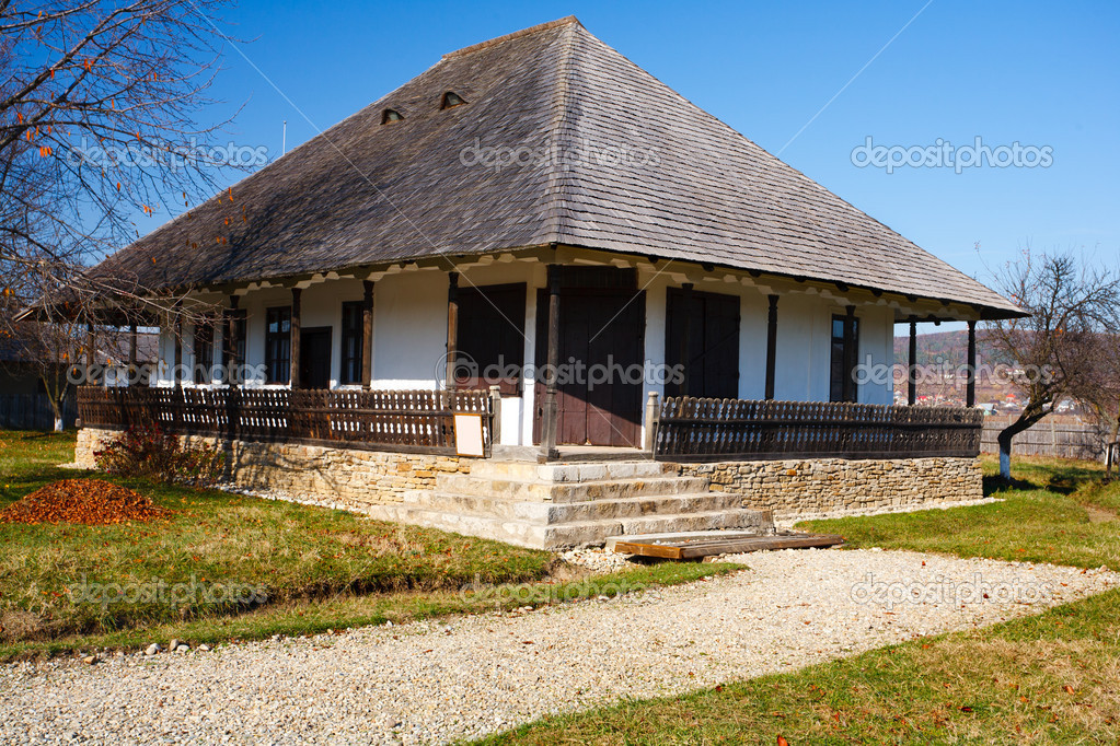 Traditional romanian house see the whole series stock photo xalanx 4362024 - What houses romanians prefer ...