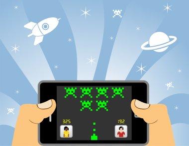 Smart phone online gaming