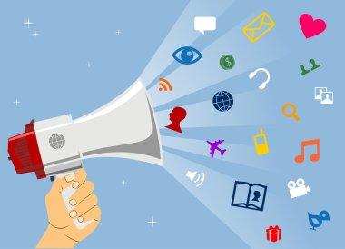 Social media communication