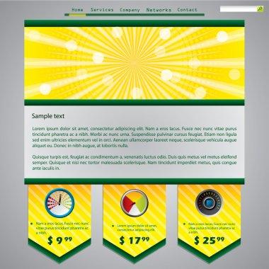 Downloader website template