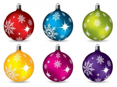 Bright christmas decorations