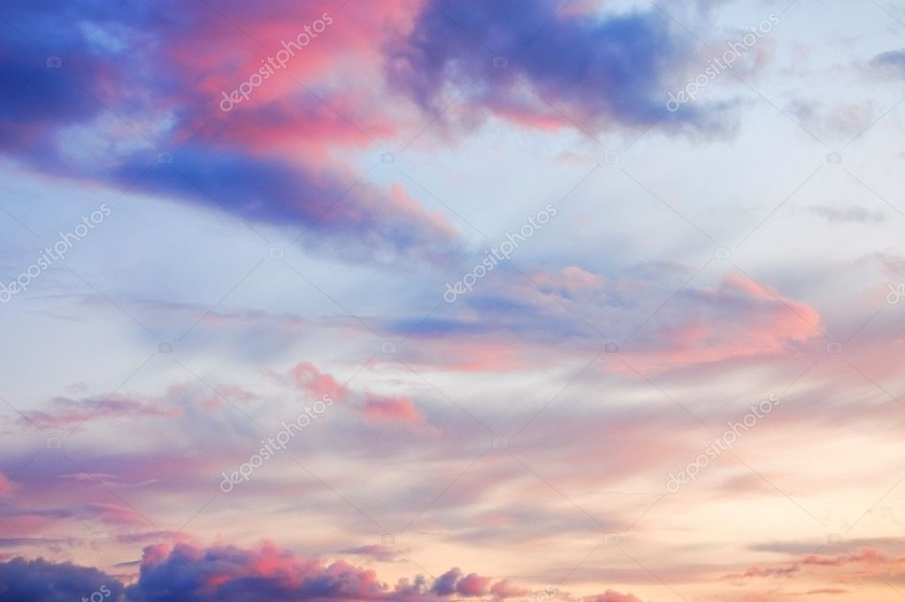 Wonderful twilight sky
