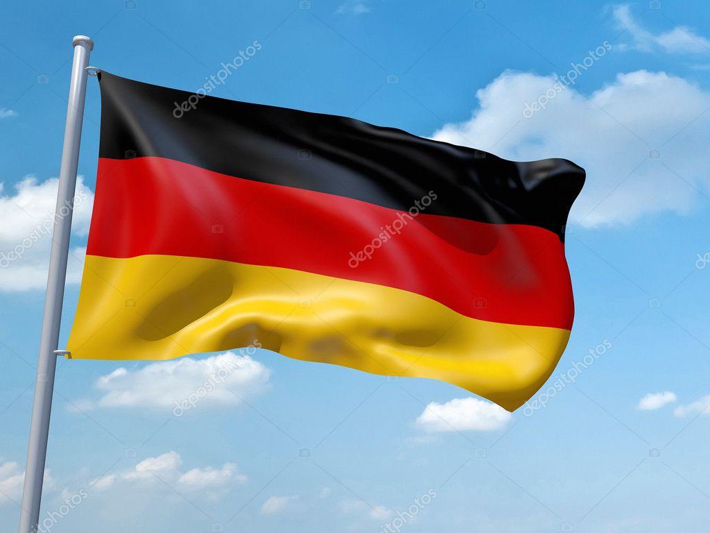 German flag — Stock Photo © magann #5234574