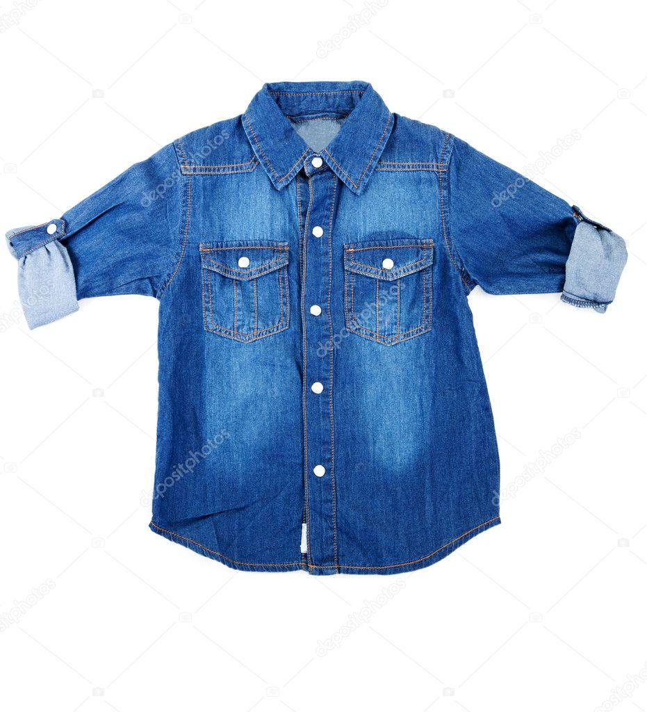 311637490697 Μπλέ τζιν πουκάμισο — Φωτογραφία Αρχείου © Ruslan  4867342