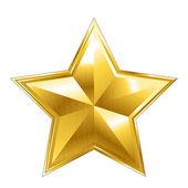 Fotografia icona stella vettoriale su sfondo bianco