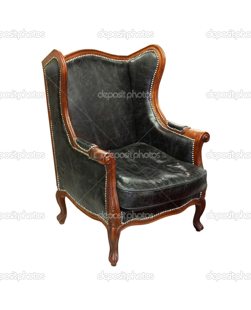 Decorative Vintage Armchair Isolated With Clipping Path Included U2014 Photo By  Baloncici