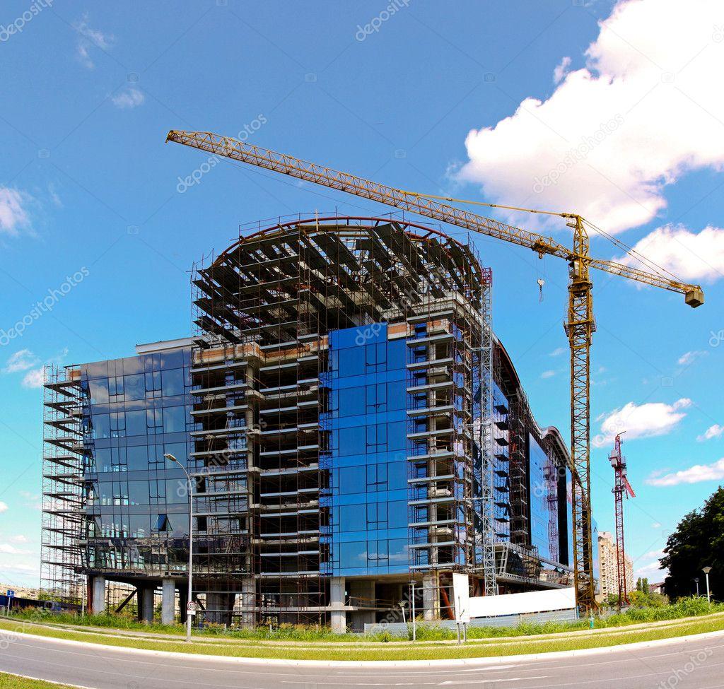 Building construction stock photo baloncici 5151671 for Building under construction insurance